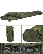 Schlafsack Tactical 5 oliv, BW, Camping, Outdoor, Kälteschutz         -NEU-