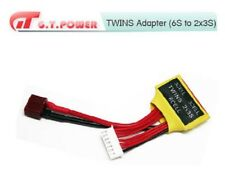 GT POWER Lipo battery balance Twin charger/Adapter Connector for 6S 2x3S