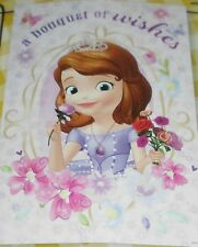 Brand New Disney Sofia the First Garden Flag For Dog Rescue Charity