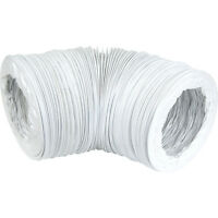NEW 3 X Electrical PVC Flexible Ducting 100mm x 3m Each FreePost.UK