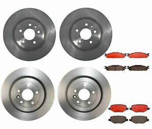 Brembo Front Rear Brake Kit Disc Rotors Ceramic Pads For Explorer Flex Standard