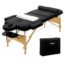 Professional Deluxe Portable Folding Massage Bed Chair Table Ultra-thick Sponge
