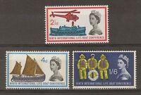 GB 1963 Commemorative Stamps~Lifeboat Phosphor~Unmounted Mint Set~UK seller