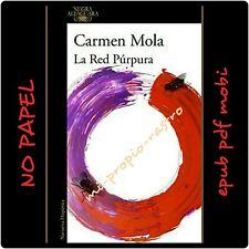 NEW LIBRO DIGITAL NO DE PAPEL.CARMEN MOLA.LA RED PURPURA.Ebup,pdf,mobi