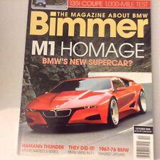 Bimmers BMW Magazine M1 Homage Bmw New Supercar October 2008 052617nonrh2