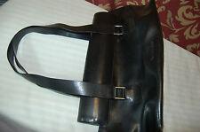 CK Calvin Klein Black Leather Shoulder Bag