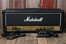 Marshall DSL100H Electric Guitar Amplifier Head 100 Watt Tube Amp w Footswitch