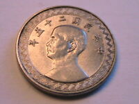 1936 yr 25 China 10 Fen Ch AU+/BU Lustrous Abt Unc Chinese Empire 10 Cent Coin