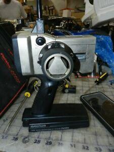 Futaba t3pk magnum radio transmitter with case and receiver