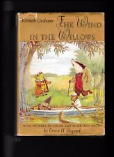 The Wind in the Willows---Kenneth Grahame---Ernest H. Shepard---hc/dj---1961
