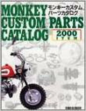 BIKE JAPANESE tuning Book Bike Bicycle MONKEY HONDA   Parts catalogue 2001
