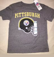 NWT Old Navy Football NFL Pittsburgh Steelers T Shirt Size 14-16