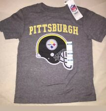 NWT Old Navy Football NFL Pittsburgh Steelers T Shirt Size 5 6-7 8 10-12