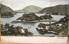 Irish Postcard Upper Lake of Killarney Ireland Come Spend Holidays Lawrence 1905