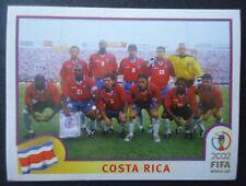 Panini Sticker 223 Team Costa Rica WM 2002 Korea Japan