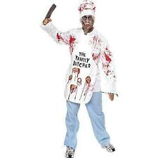 Deadly Chef Zombie Butcher Halloween Costume Male Small