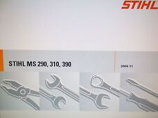 Stihl MS 290, MS 310, MS 390 Chainsaw Factory Service Manual