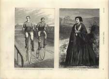 1875 25 Mile Race amatoriale bicicletta campionato Lillie Bridge