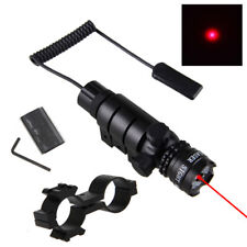 Red Green Tactical Dot Laser Sight Rail Barrel Mount Remote Switch for Rifle Gun