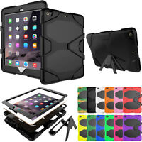 Shockproof Rugged Defender Stand Case For iPad 9.7 Inch 2018 6th Gen A1893 A1954