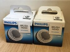 2 X Philips RQ560/50 Replacement BRUSH HEAD SmartClick Oil-Control Super Soft