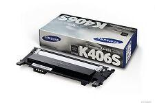 Genuine Samsung CLT-K406S / SU118A Black Toner Cartridge For Xpress SL-C460W