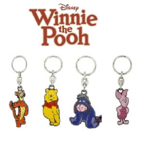 Walt Disney Winnie the Pooh - Tigger - Piglet - Eeyore Key Rings