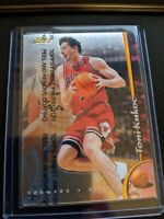 1998-99 Topps Finest Toni Kukoc #68 Chicago Bulls W/ Coating Last Dance HOT CARD