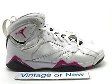 Girls Nike Air Jordan VII 7 Fireberry Retro GS 2012 sz 7Y