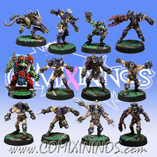 Fantasy Football - CHAOS PACT TEAM 12 Players for Blood Bowl - Meiko Miniatures