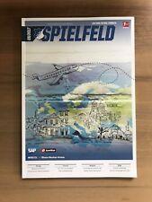 Programm Spielfeld TSG 1899 Hoffenheim September 2017 FC Bayern München FCB