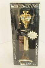 Star Wars Limited Edition C-3PO Giant PEZ Dispenser Gold NIB