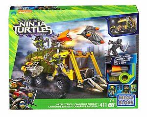 Teenage Mutant Ninja Turtles - Bataille Camion Kit Dpf82 Mega Bloks