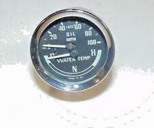 68-74 MG Midget Smiths GD 1307/01 Dual Oil /Water Temp Gauge-No Tube-Guaranty-S3