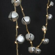 Sleigh Bells 37 LED indoor Light Chain - battery operated with timer.