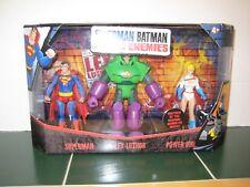 DC Superman Batman Public Enemies  3 Pack Set Lex Luthor Power Girl Superman NEW