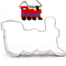Train Stainless Steel Cookie Cutter Cake Baking Mould Biscuit DIY Mould ☆