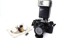 Canon ae-1 Black program/Canon FD 35-70mm/Starter Set/Service + Seals