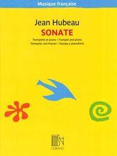 HUBEAU SONATA Trumpet & Piano MUSIQUE FRANCAISE Ed