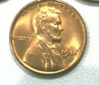 1944 S NICE Red   Uncirculated  Lincoln Wheat Cent Pennys