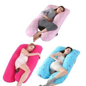 U Shaped Pillow Maternity Pregnancy Pillow Nursing Boyfriend Body Pillows
