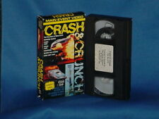 Main Event Video: Crash & Crunch VHS monster trucks indy funny cars dragsters