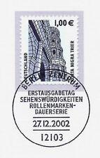 BRD 2002: Porta Nigra Trier Nr 2301 mit Berliner Ersttags-Sonderstempel! 1A 1810