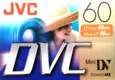 JVC   Mini DV   DVM60ME   M-DV60DU  Digital Video Cassette  DVC Tape