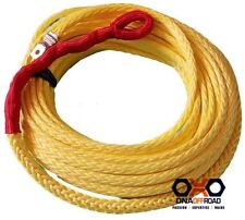 Australian made 10mm x 40M winch rope yellow suits M8274 high mount