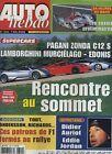 AUTO HEBDO n°1340 du 7 Mai 2002 EDONIS LAMBORGHINI MURCIELAGO ZONDA C12S