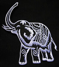 THAILAND SIAM WAR ELEPHANT Embroidered Iron on Patch Free Postage
