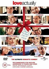 Love Actually (DVD, 2004) The Ultimate Romantic Comedy *like new*