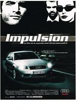 PUBLICITE ADVERTISING   2003     AUDI    A3   IMPULSION