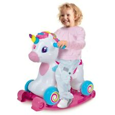 New Baby Clementoni Interactive Ride On Unicorn Educational Activity Fun Rocking